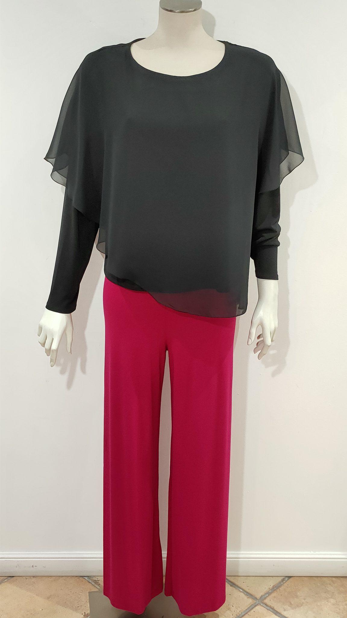 casacca manica lunga nero