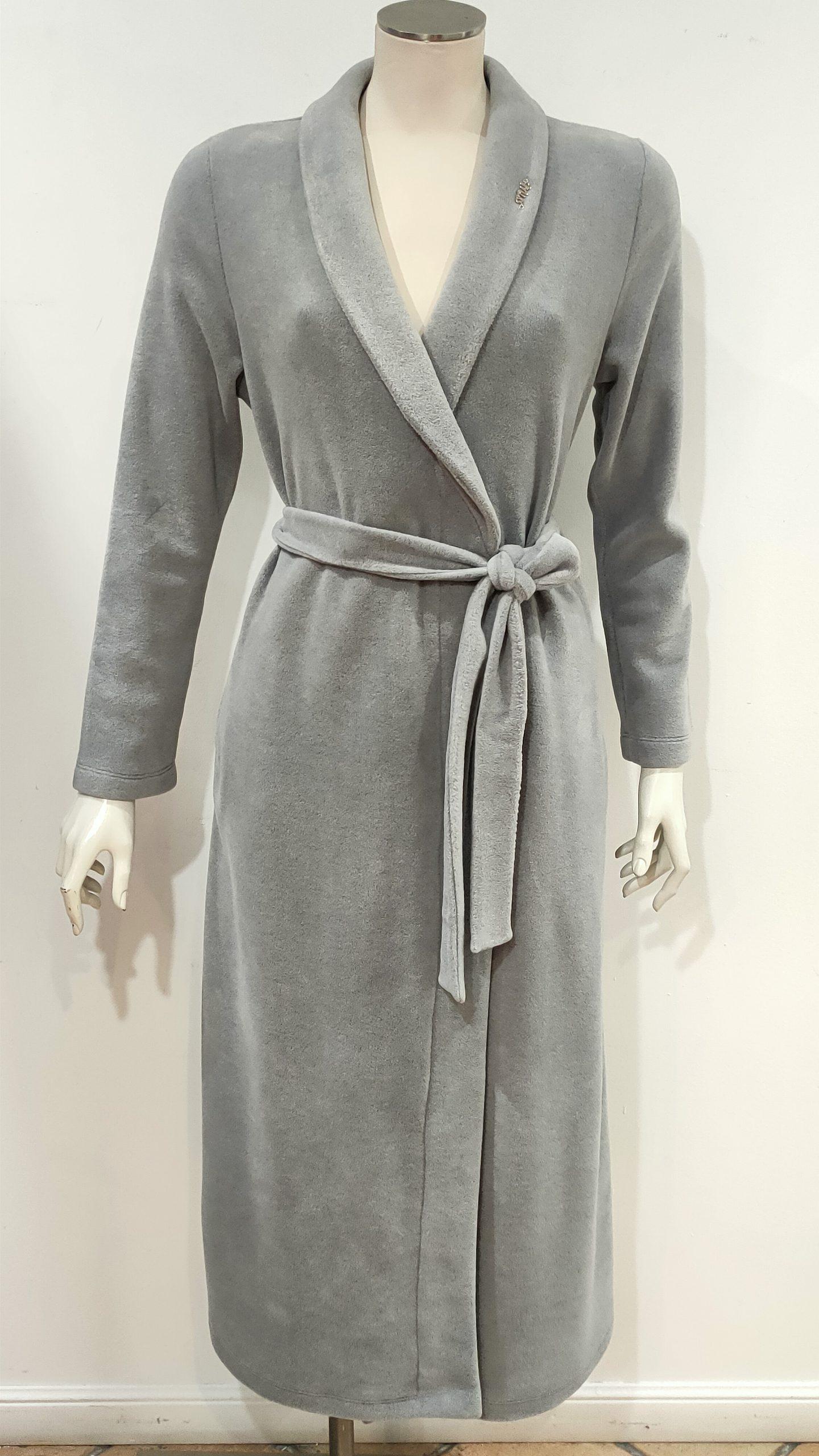 Vestaglia invernale lunga grigio