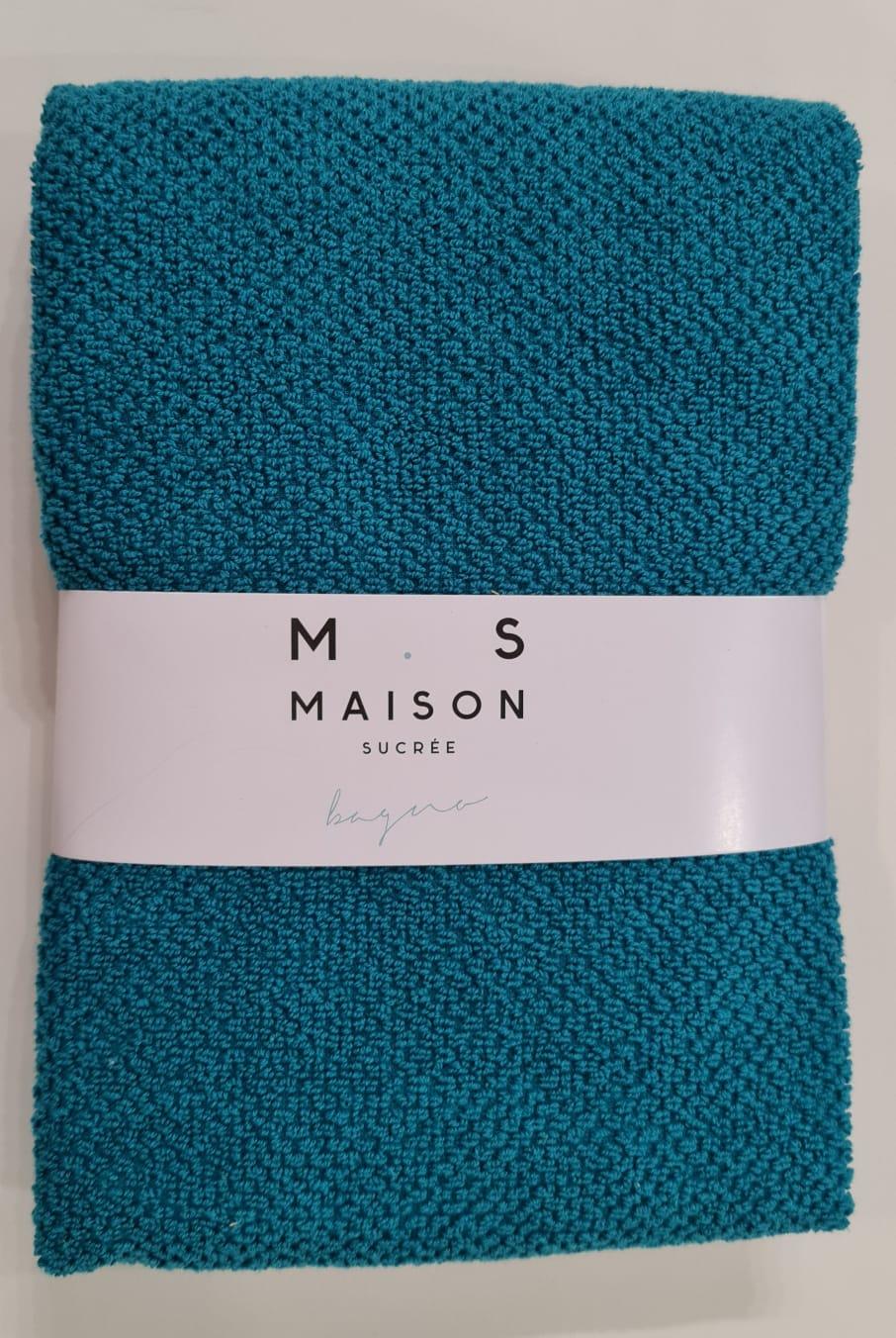 Coppia asciugamani PEPE,piquet di spugna 100% cotone