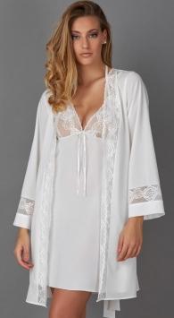 completo da sposa camicia da notte