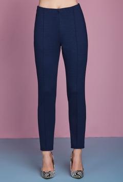 Pantalone donna con elastico in vita