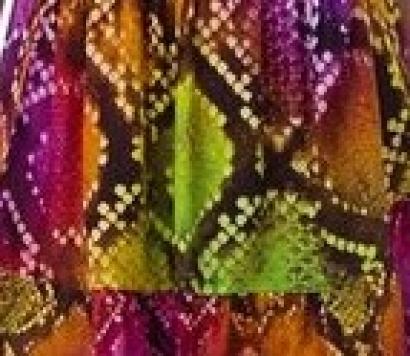 Pareo foulard fantasia pitone