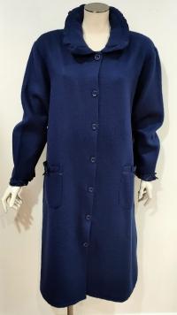 Vestaglia invernale corta 15003 blu