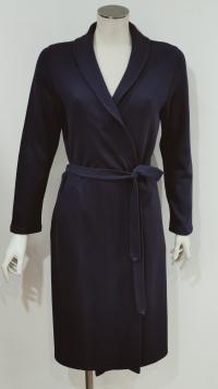 Vestaglia invernale corta blu