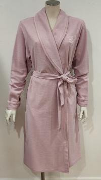 Vestaglia invernale corta rosa