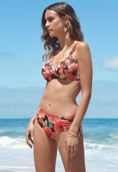 bikini coppe C fiori