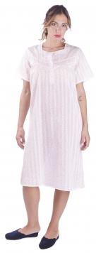 camicia da notte manica corta serafino