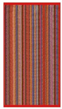 telo mare multicolor jacquard spugna cotone